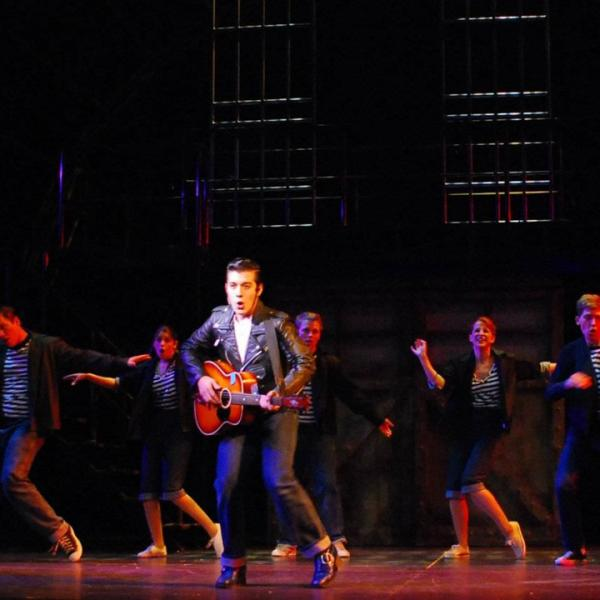 all shook up musical synopsis Take the music and rebellious ethos of elvis presley and add in a storyline based on shakespeare's twelfth night, with just a dash of romeo and juliet for extra spice set it all in the emerging civil rights era of the late 1950s and simmer the result is all shook up at the muny in forest park a humorous, musical evening of.
