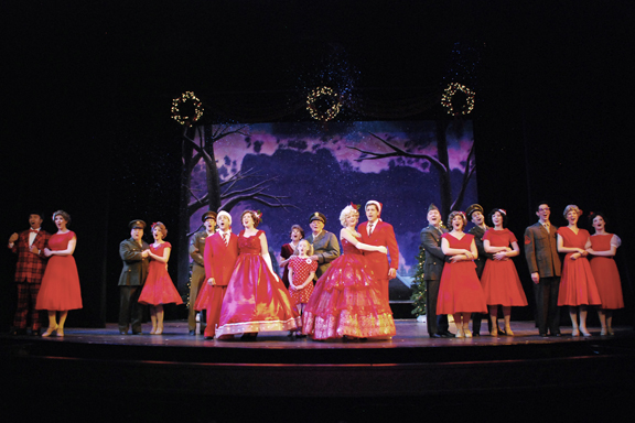 White Christmas Musical.Irving Berlin S White Christmas Productions The