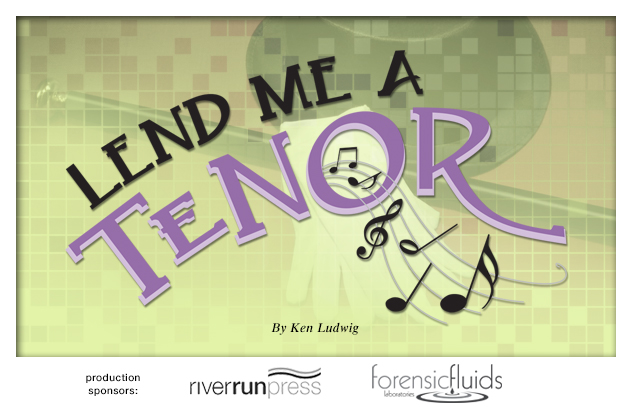 2014-2015 Lend Me a Tenor production background