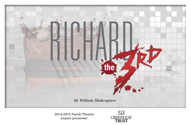 2014-2015 Richard III production background