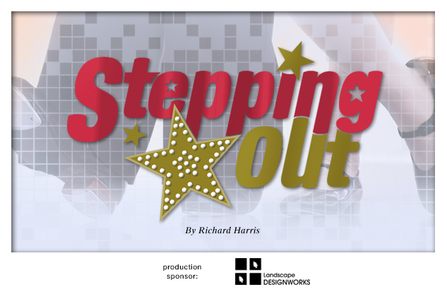 2014-2015 Stepping Out production background