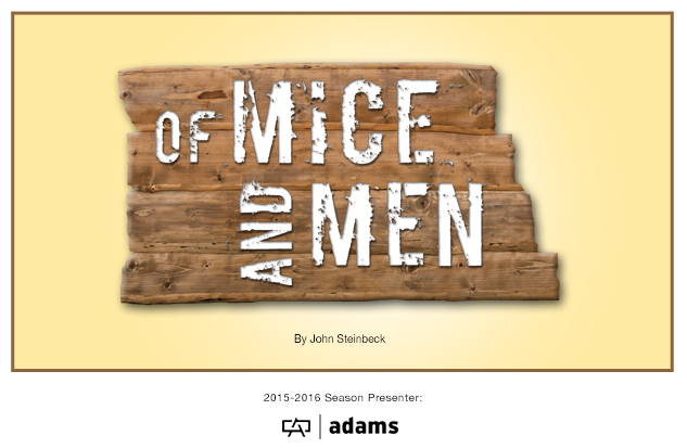 15-16 Of Mice and Men web art