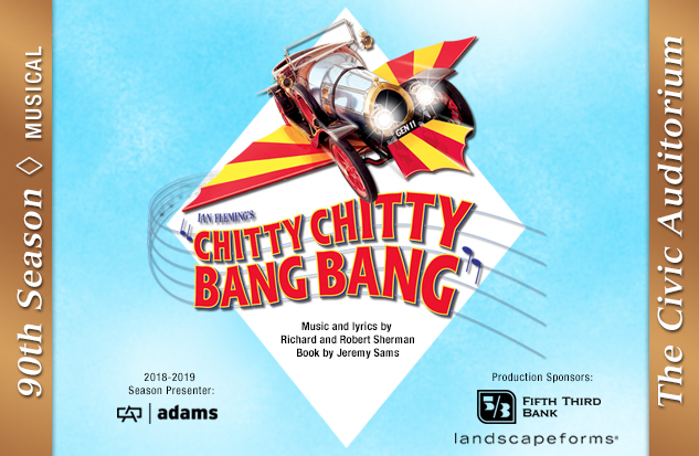 18-19 Chitty Chitty Bang Bang prod art