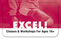 EXCEL! Adult Summer Workshop Series: <br>Broadway Tap Tuesday Nights For Ages 16+<br>