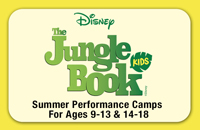 ENVISION! 'THE JUNGLE BOOK KIDS' - Musical Theatre Camp