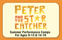 ENVISION! 'PETER AND THE STARCATCHER' - Acting Camp