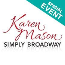 Karen Mason Simply Broadway