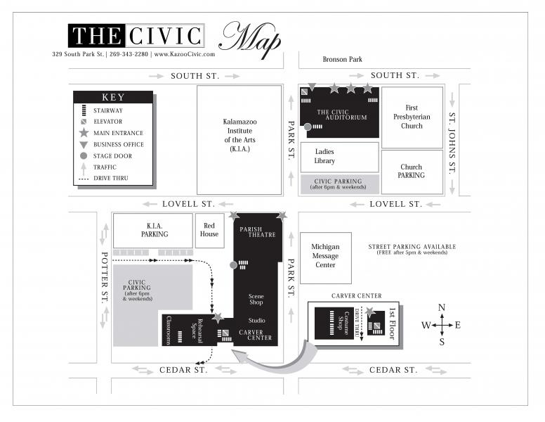 civic map